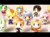 World of Final Fantasy End Credits Dance Scene