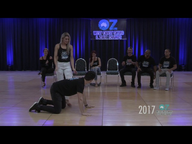 Jordan Becky Invitational Cross Over - OZ WCS Zouk Champs 2017