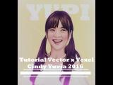 Tutorial Vector x Vexel Cindy Yuvia JKT48 Photoshop CS5 2016 Part 2
