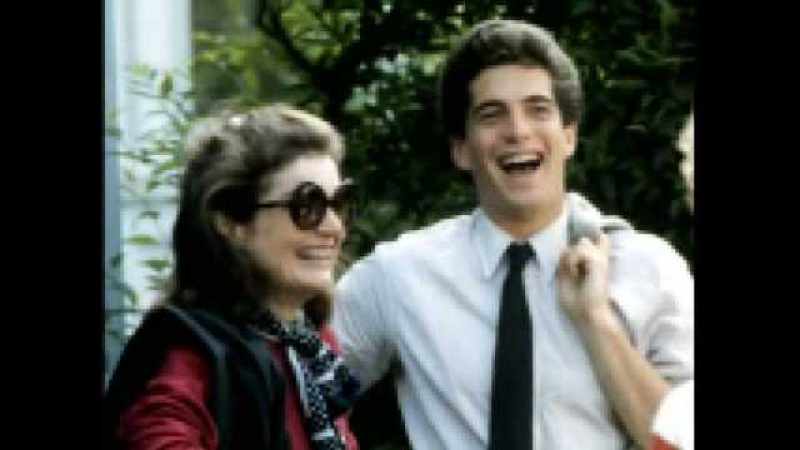 Clips of JFK Jr from Kennedys: The Curse of Power