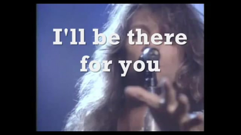 Bon Jovi - I'll Be There For You. (lyrics) 1988 ♫ I'd live and I'd die for you ♥