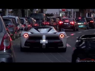 Supercars in Cannes 2016 - VOL. 1 (LaFerrari, Brabus S63, 675LT, Aventador Pirelli Edition)