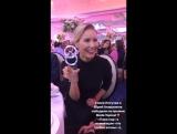 Елена Летучая вместе с супругом Юрием Анашенковым победили в номинации «На гребне волны» на премии «Пара Года 2017»