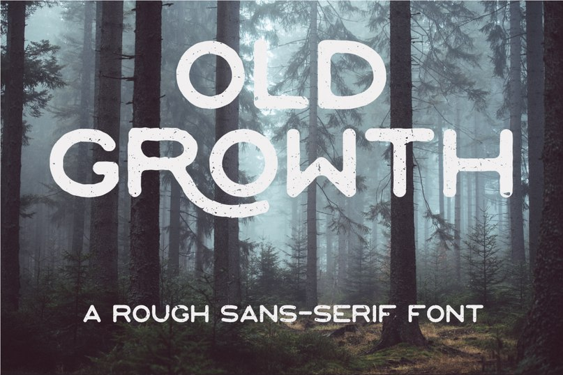 Download OldGrowth Regular font (typeface)