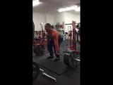 Эштон Роуска - тяга 265 кг х 10 повторов