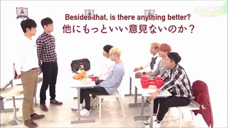 160928 NHK E-tele 'Уроки корейского' 24 эпизод (ансаб)