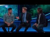 Джаред и Дженсен на ток-шоу Конана ОБрайена (отрывок 4)   SDCC 2017