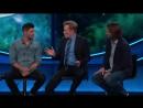 Джаред и Дженсен на ток-шоу Конана ОБрайена отрывок 4 SDCC 2017