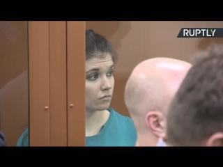 Оглашение приговора Варваре Карауловой
