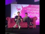 25.02.17 Olly talking at the #StudentPride