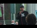 Xavier Naidoo auf der Mahnwache am Tag der deutschen Einheit in Berlin