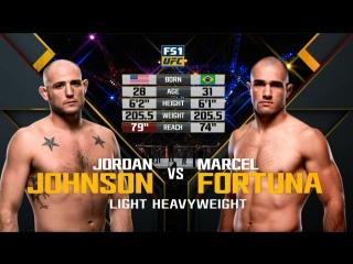 The Ultimate Fighter 25 Марсел Фортуна vs Джордан Джонсон обзор боя
