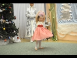 Мы маленькие  Куколки умеем танцевать... (моя КУКОЛКА такая умничка...) _ НГ праздник в детском саду_ декабрь 2016