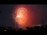 День России и города Кемерово.Время 22-30.Кусочек Фейерверка 12го июня с места моей работы