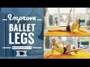 Lean Legs workout - ballet inspired exercises | Lazy Dancer Tips