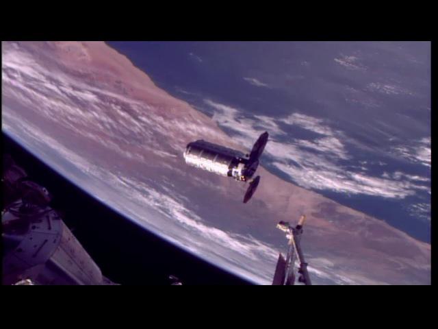 Orbital ATKs Cygnus Rendzevous and Installation to the International Space Station