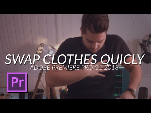 How To Swap Clothes Very Quickly Using an Editing Technique in Adobe Premiere Pro