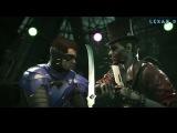 Injustice 2 - Робин против Джокера - Intros & Clashes (rus)