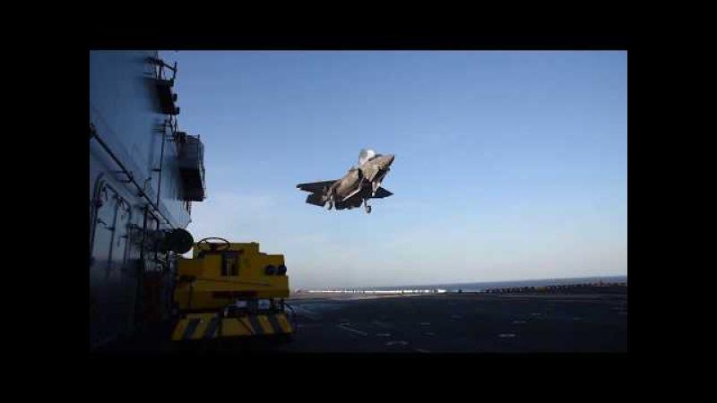 F-35B Lightning II Flight Operations Aboard USS Wasp (LHD 1)