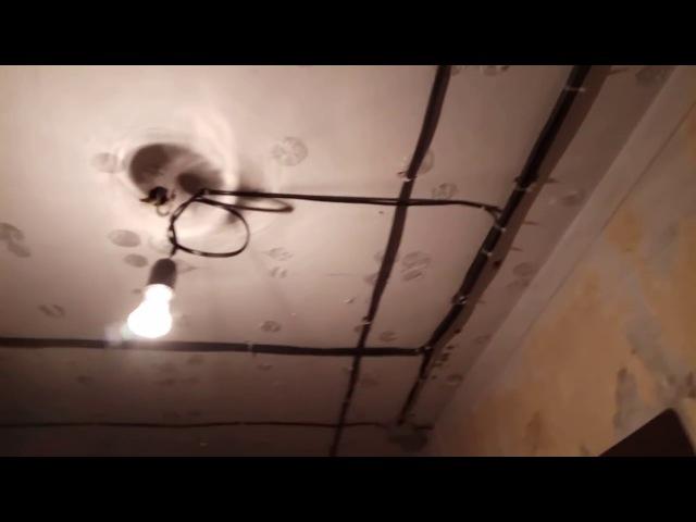 Электрик Ижевск Замена проводки в квартире бюджетный вариант