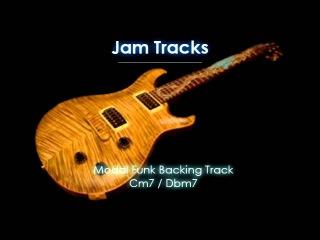 Modal Funk Backing Track (Cm7/Dbm7)
