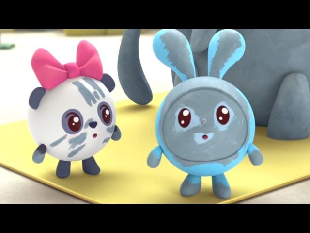 Малышарики Слон Новая серия 109 Развивающие мультики для самых маленьких