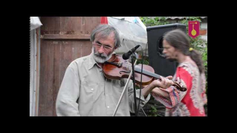 Сергій Охрімчук грає на фестивалі Древо роду кобзарського 2016