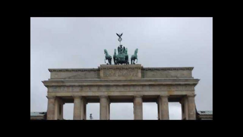 Бранденбургские ворота, Берлин, Германия   Brandenburg Gate, Berlin, Germany