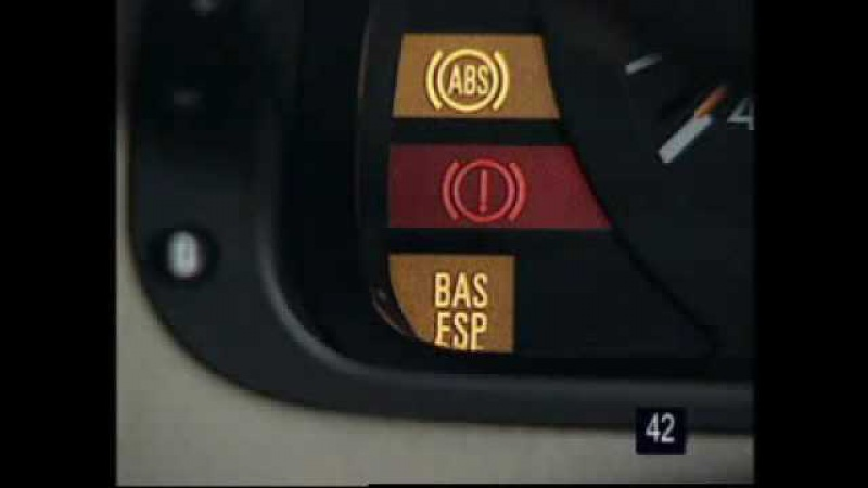 Mercedes w210 - sitemul de franare cu BAS (Brake Assist System) - clubmercedes.ro