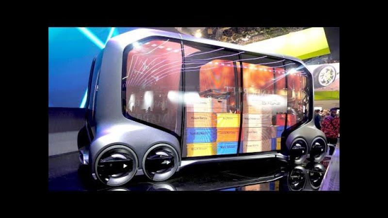 Самоходная модульная Газель от Toyota