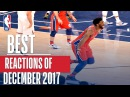 Best NBA REACTIONS of the Month | December 2017