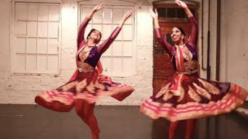 MERE RASHKE QAMAR | Kathak Fusion Dance | Svetlana Tulasi Shereen Ladha