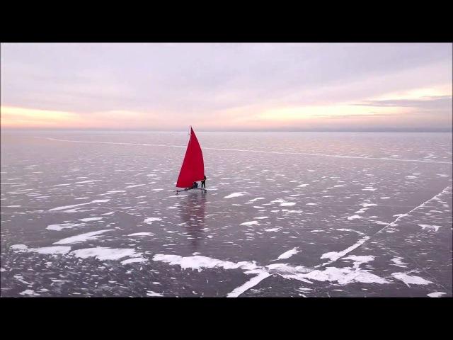 Буер с высоты озеро Смолино 2017