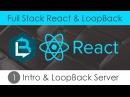 Full Stack React LoopBack 1 - Intro LoopBack Server