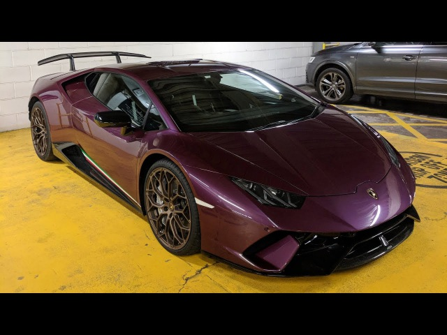 Viola Ophelia Huracan Performante LOUD Revs and Engine Sound!