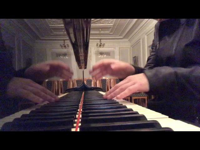Уроки игры на пианино 72 Арпеджио длинные