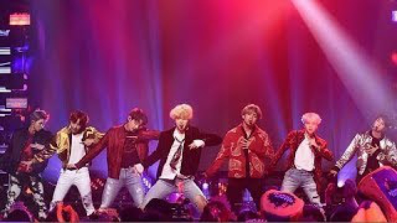 BTS (방탄소년단) - 'MIC Drop' Performance On Dick Clark's New Year's Rockin' Eve with Ryan Seacrest 2018