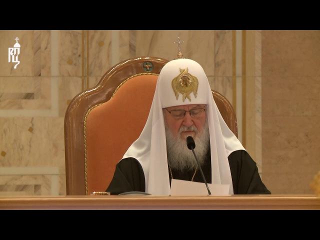 Патриарх Кирилл Церкви непрестанно пытаются навязать жизнь по правилам мира сего
