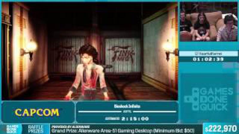 SGDQ 2015 - Bioshock Infinite by Fearful Ferret