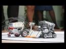 В Старооскольском педагогическом колледже роботы мерялись силой и интеллектом