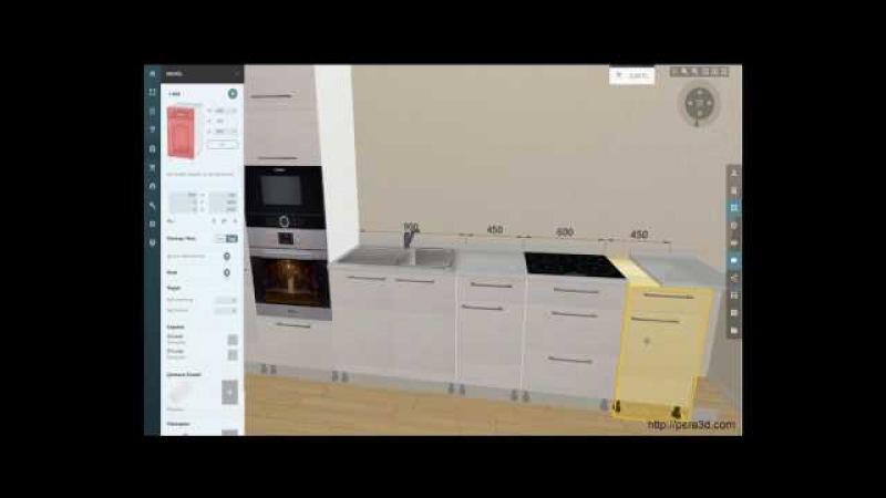 Online 3D Mutfak Çizim Programı (Tanıtımı ve Demosu - Pera 3D)