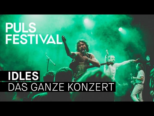 IDLES live beim PULS Festival 2017 (Full Concert)