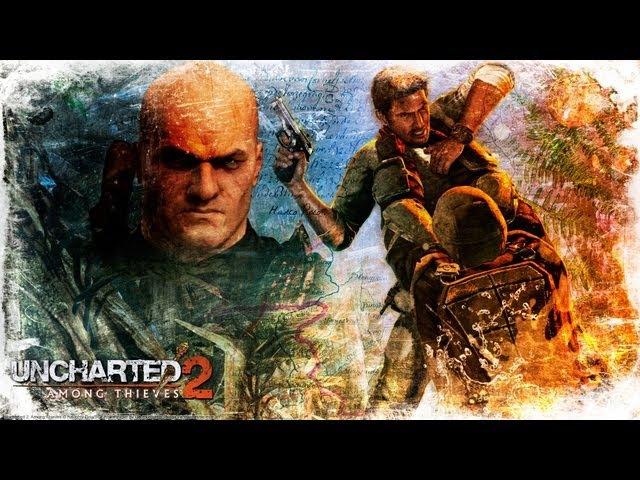 Полнометражный игрофильм - Uncharted 2 Among Thieves