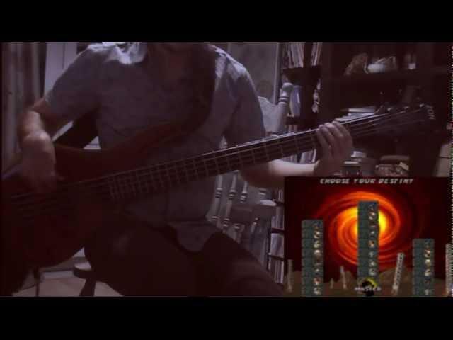 Mortal Kombat 3 ( SEGA ) bass music cover