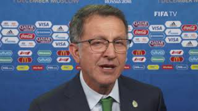 Juan Carlos OSORIO – MEXICO - Final Draw Reaction