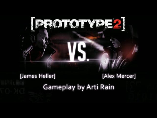 Prototype 2 | Final Battle James Heller vs. Alex Mercer | Gameplay by ArtiRain