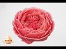 Mein erster Versuch englische Rose mit der Bohnenpaste