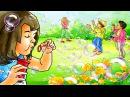 Развивающие уроки и мультфильмы для детей. Мыло и мыльные пузыри