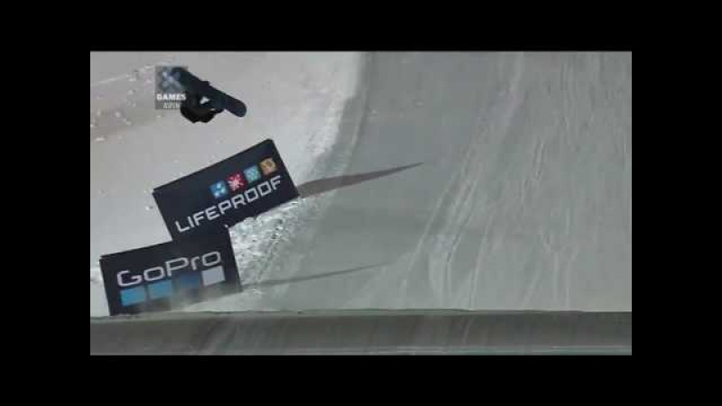 Marcus Kleveland First Quad Cork 1800 on X Games Aspen 2017