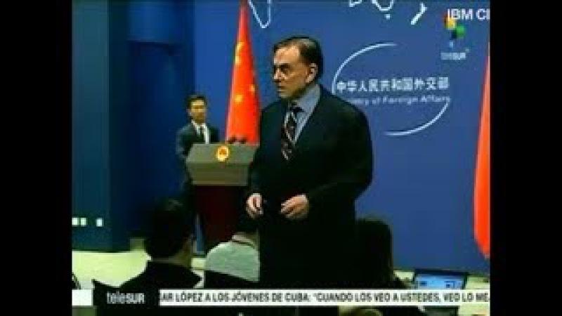 Dossier con Walter Martínez 151117 China Irak Libano Zimbabue Irán Venezuela Rusia Chile
